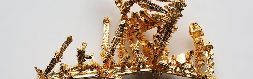 Gold crystals